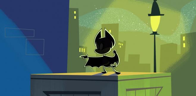 De wraak van Dark Bat  - Bugs!