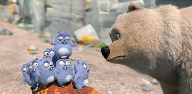 Ein Eisbär im Wald?!  - Grizzy und die Lemminge