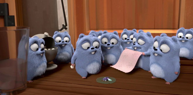 Schwirr ab!  - Grizzy und die Lemminge