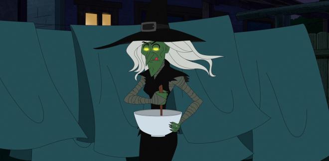 A vérszomjas boszorkány  - Csak lazán Scooby-Doo