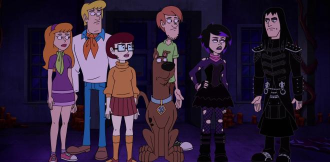Éjjeli árnyak  - Csak lazán Scooby-Doo
