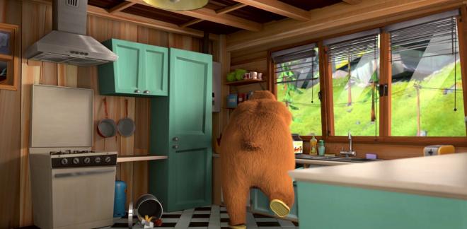 Dobry, zły i lemingi  - Grizzy i lemingi