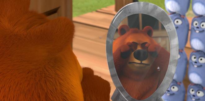 Niedźwiadek  - Grizzy i lemingi