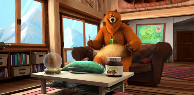 Niedźwiedzie przepowiednie  - Grizzy i lemingi