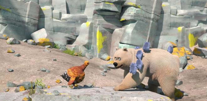 Niedźwiedź polarny w lesie?!  - Grizzy i lemingi