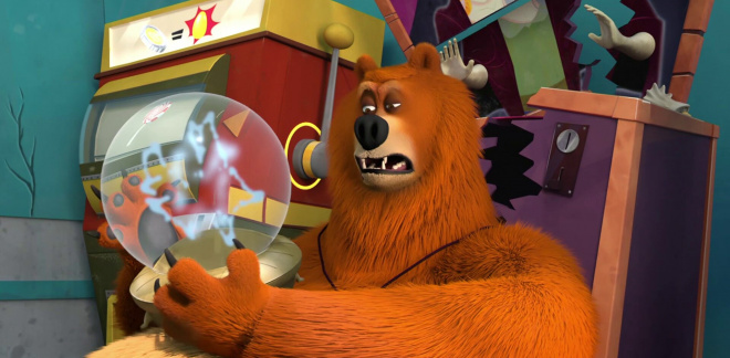 Prezicerile ursului  - Grizzy şi lemingii