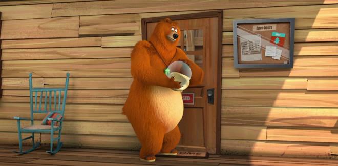 Медвежьи предсказания  - Гриззи и лемминги
