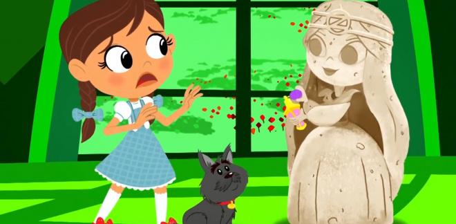 Le parfum pétrifiant - Le Magicien d'Oz : Dorothy Et Ses Amis