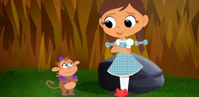 Le singe volant - Le Magicien d'Oz : Dorothy Et Ses Amis