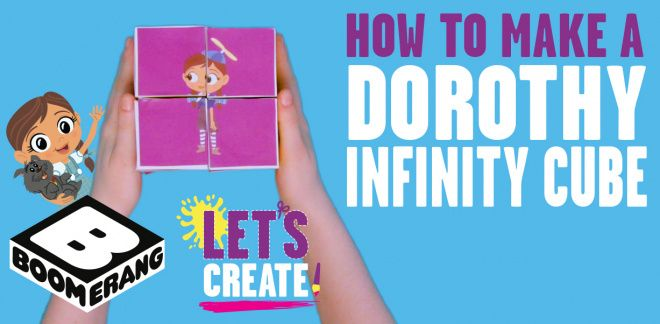 How to Make a Dorothy Infinity Cube - Let's Create!