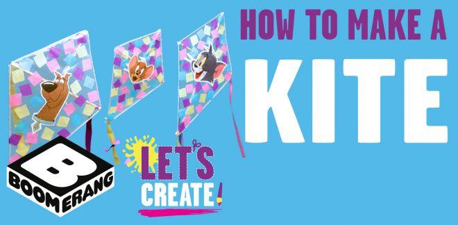 How To Make A Kite - Let's Create!