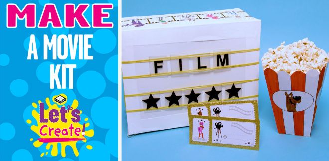How To Make A Movie Night Kit - Let's Create!