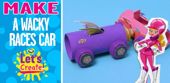 How To Make Wacky Races Cars - Let's Create!