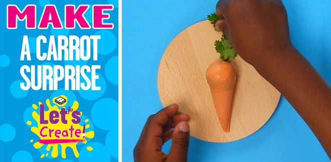 How to Cook a Carrot Surprise - Let's Create!