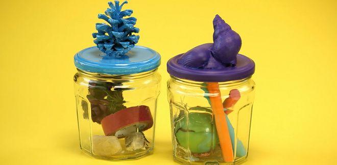 How to Make a Keepsake Jar - Let's Create!