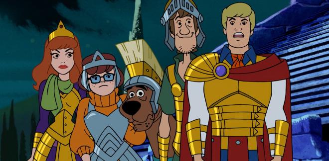 Wonder Woman's krigere - Scooby-Doo og hvem tror du