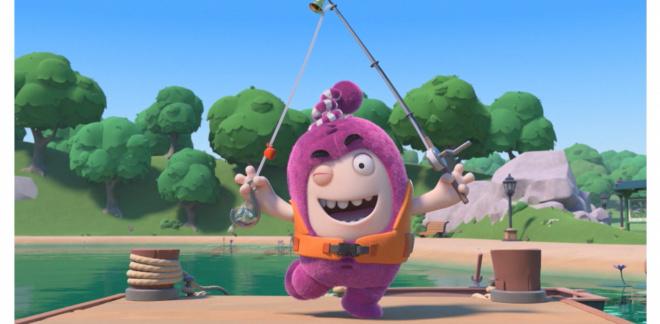 Fiskartjejen Newt! - Oddbods