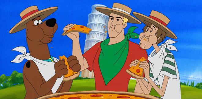 Verdensturne med mad - Scooby-Doo og hvem tror du