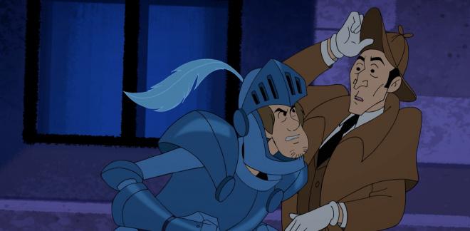 Skrikende hodeskaller - Scooby-Doo Og Gjett Hvem?