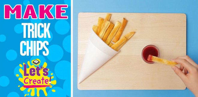 How to make trick chips - Let's Create!