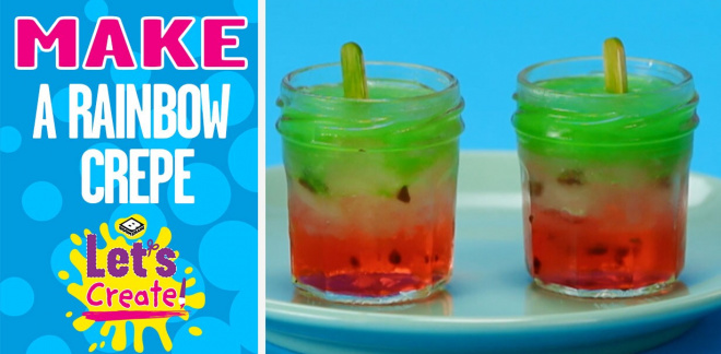How to make watermelon ice lollies - Let's Create!