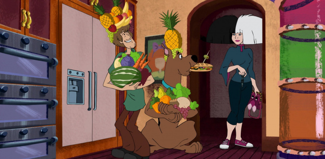 Sia's fun house  - Scooby-Doo and Guess Who?