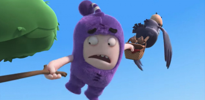 Guarda-costas - Oddbods