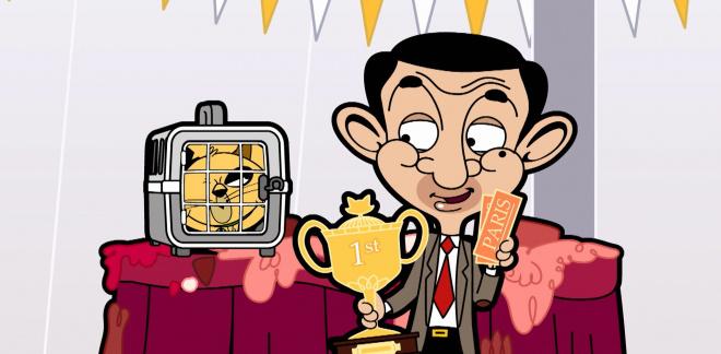Cat show fail - Mr Bean