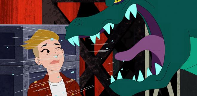 Halsey vs krokodilen - Scooby-Doo och vem tror du?