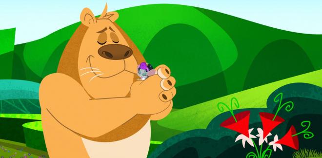 Løvens finner kjærlighet - Dorothy og Trollmannen fra Oz