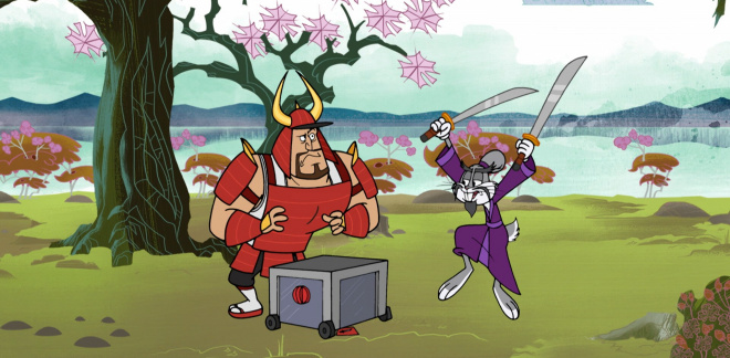 Samuraitest - Snurre Sprett og alle vennene