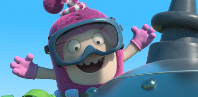 Off to space - Oddbods