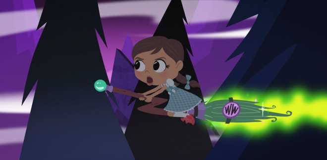 Sopelimeflyging! - Dorothy og Trollmannen fra Oz