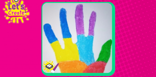 The best of the Handprint Challenge - Let's Create!