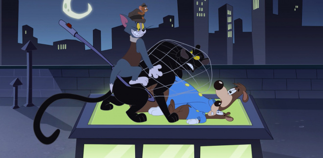 Missing black panther - Tom and Jerry