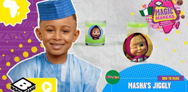 Masha's Nigerian Dessert! | Easy Food Activity - Boomerang Africa Magic Makers