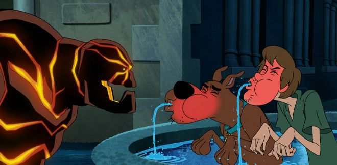 Fire monster - Scooby-Doo and Guess Who?