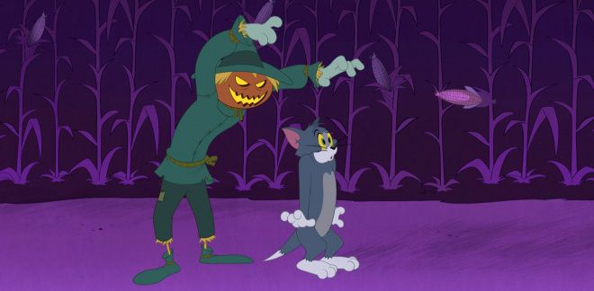 Scarecrow Vs Tom - Tom and Jerry