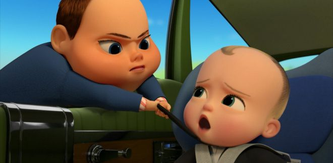 Car intruder! - Boss Baby: Back in Business