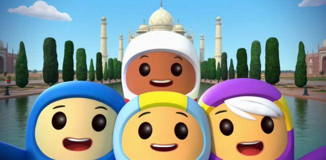Le Taj Mahal - Go Jetters