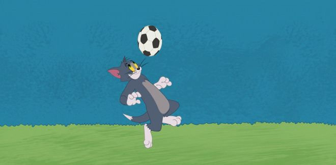 Football challenge - Tom and Jerry