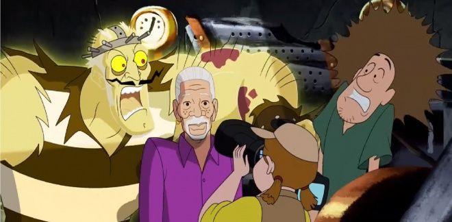 Morgan Freeman ile Hayalet Belgeseli - Scooby Doo ve Bil Bakalım Kim?