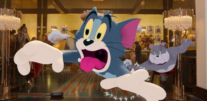 Tom and Jerry The Movie Sneak Peek - Be Cool, Scooby-Doo!