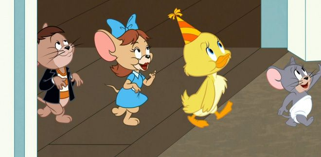 Czas na imprezę - Tom i Jerry
