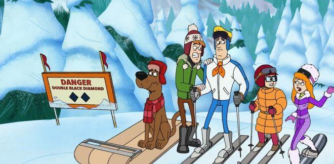 Omul de zăpadă malefic - Fii tare, Scooby Doo!