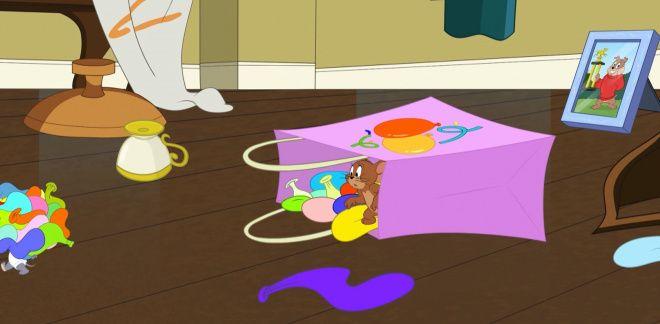 Distracție cu baloane - Tom şi Jerry
