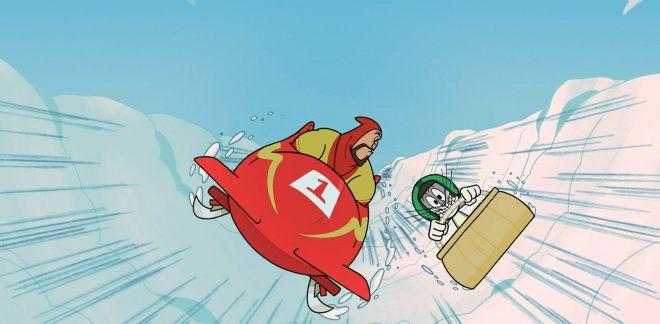 Olympische Winterspiele - Neue Looney Tunes