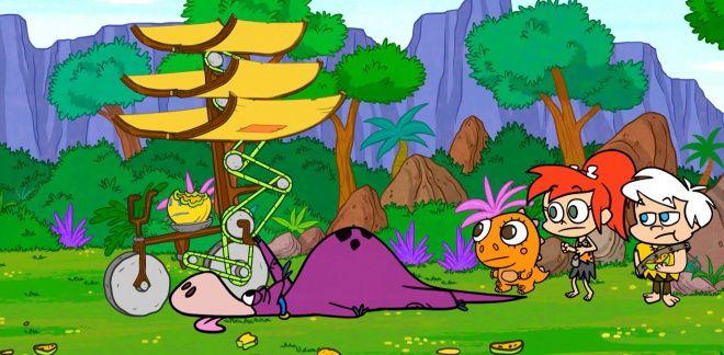 Vliegende wraak - Yabba Dabba Dino's