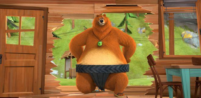 Lottatori di sumo - Grizzy e i Lemming