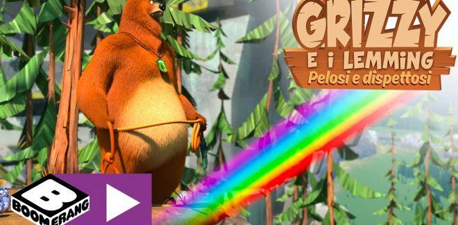 Alla conquista dell'arcobaleno - Grizzy e i Lemming